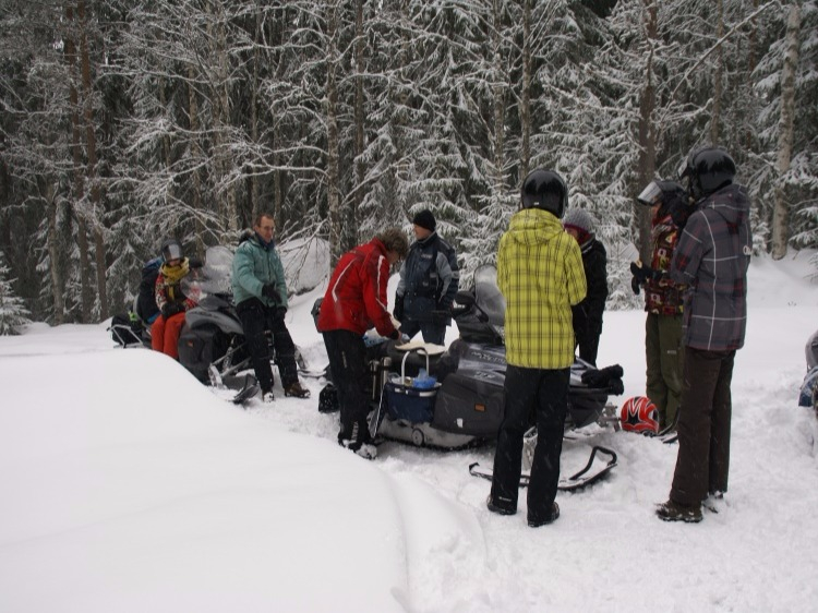 Singlereis Actieve winterreis Varmland ZWEDEN