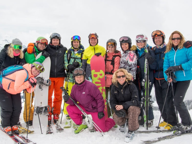 Singlereis Wintersport met singles IN TIGNES