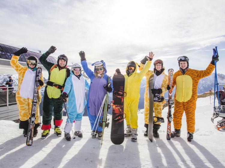 Singlereis Wintersport met singles IN SAALBACH - HINTERGLEMM