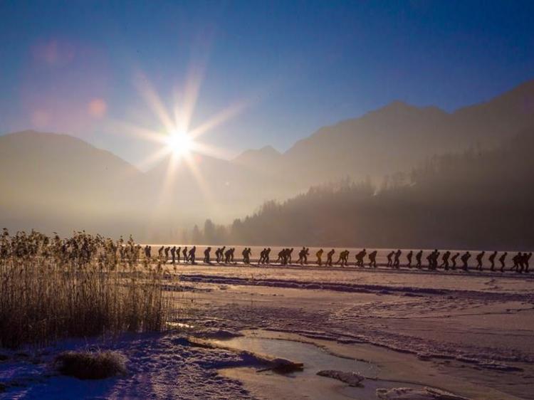 Singlereis Winters Avontuur SCHAATSEN OP DE WEISSENSEE