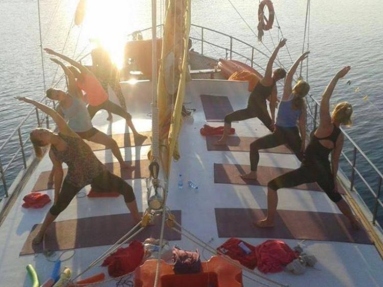 Singlereis Yoga en Zeilen IN GRIEKENLAND