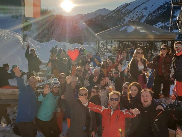 Singlereis Wintersport vakantie (HBO-WO) IN SAALBACH
