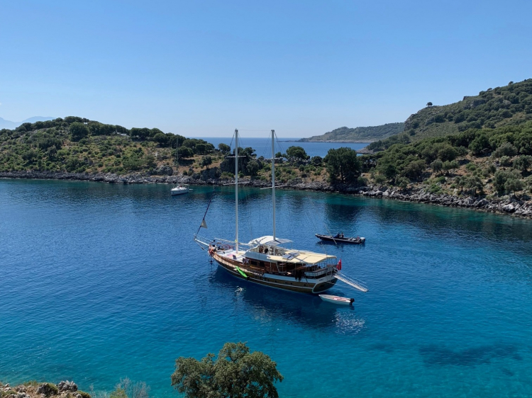 Singlereis Blue Cruise IN TURKIJE