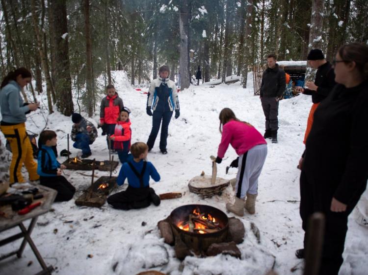 Eenoudervakantie Winterwonderland  IN ZWEDEN