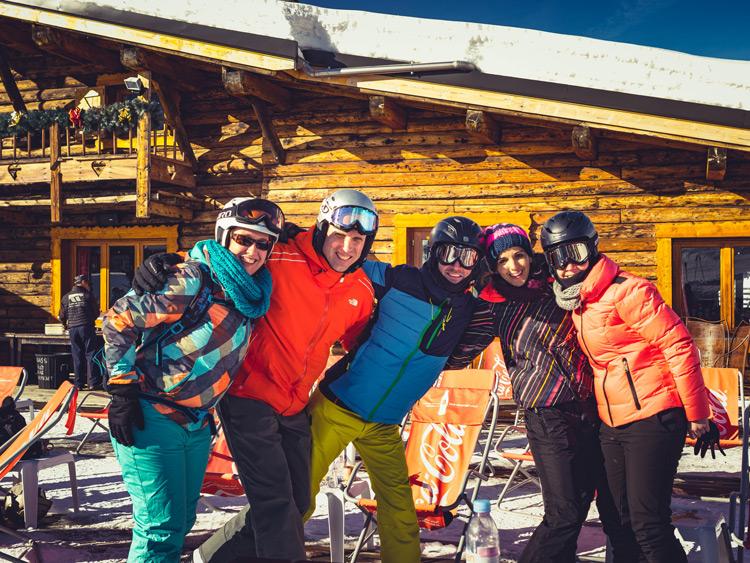 Singlereis Wintersport vakantie (HBO-WO) CHALETS SAPINIERES