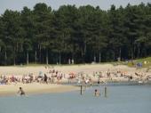 Zomerplezier bos en strand OP CARAVANPLEK