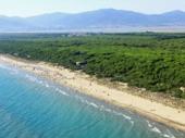 Zon en strand in huurtent MARINA DI GROSSETO